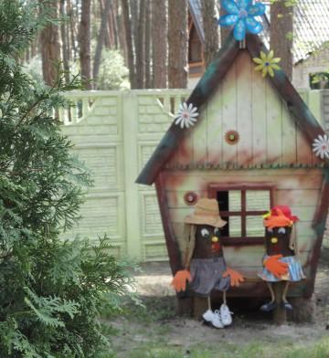 Детская площадка на базе отдыха в  Черкассах